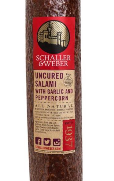 Schaller & Weber Salami Uncured (per 1 lb)