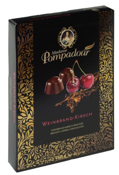 Madame Pompadour Weinbrand-Kirsch Chocolates 5.3oz. (150g)