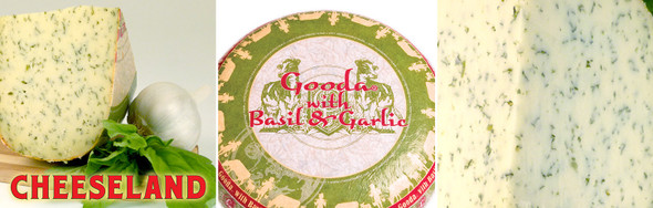 Gouda Cheese w/ Basil & Garlic (per 1lb.)