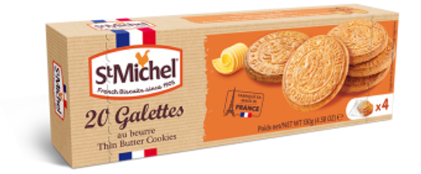 St Michel 20 Galettes Butter Cookies 130g