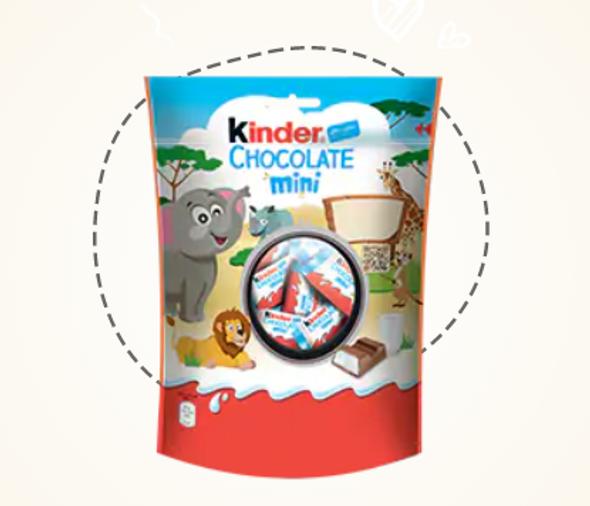 Kinder Schokolade Mini 4.23oz (120g)