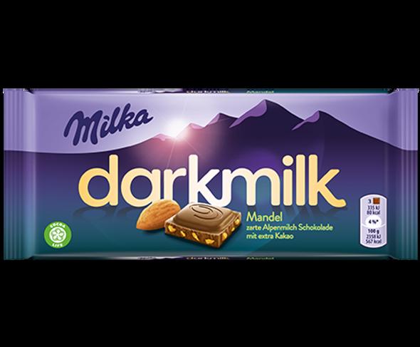 Milka Darkmilk w/ Almonds 30z (85g)
