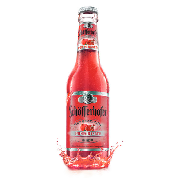 Schofferhofer Hefeweizen Pomegranate Beer 11.2 Fl.Oz.