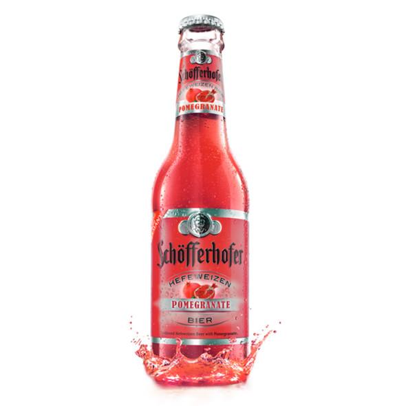 Schofferhofer Hefeweizen Pomegranate Beer 11.2 Fl.Oz.