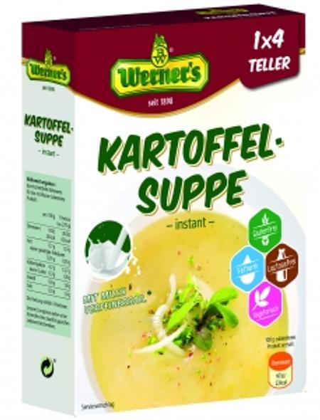 Werners Kartoffel Instant Suppe 1x4