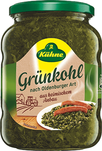 Kuhne Grunkohl Holsteiner Traditional 25.2oz (720g)