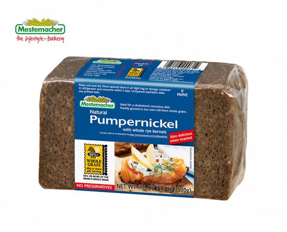Mestemacher Natural Pumpernickel Bread (mit rye kernals) 17.6oz