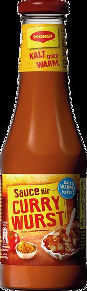 Maggi Curry Wurst Sauce 16.9oz (550g)