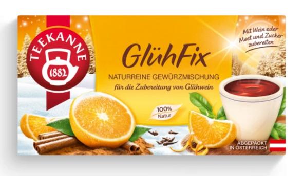 Teekanne Glühfix 20 bags (30g)