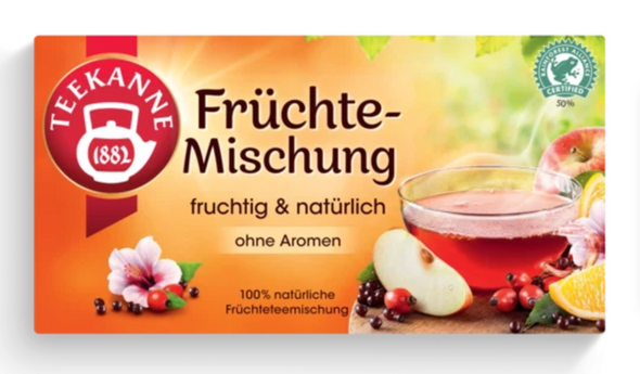 Teekanne Mixed Fruit Caffeine Free 20 bags (60g)