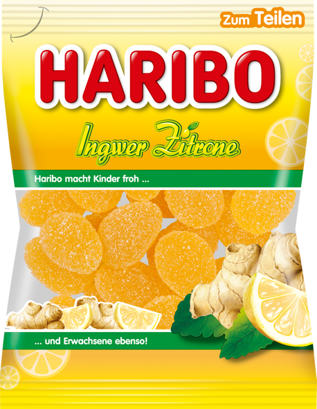 Haribo Ginger-Lemon 4oz (113g)