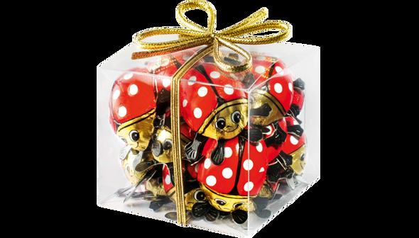 Storz Gift Box of Milk Chocolate Lady Bugs 125g