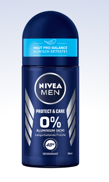 Nivea Men Protect & Care Roll-On Anti-Perspirant 50ml