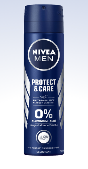 Nivea Men Protect & Care Spray Anti-Perspirant 150ml