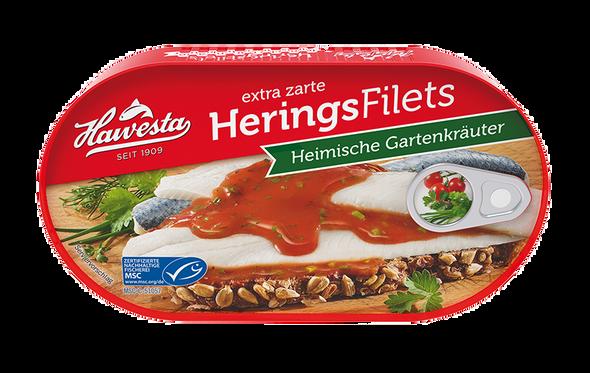 Hawesta Herring Fillets Heimische Gartenkrauter 200g