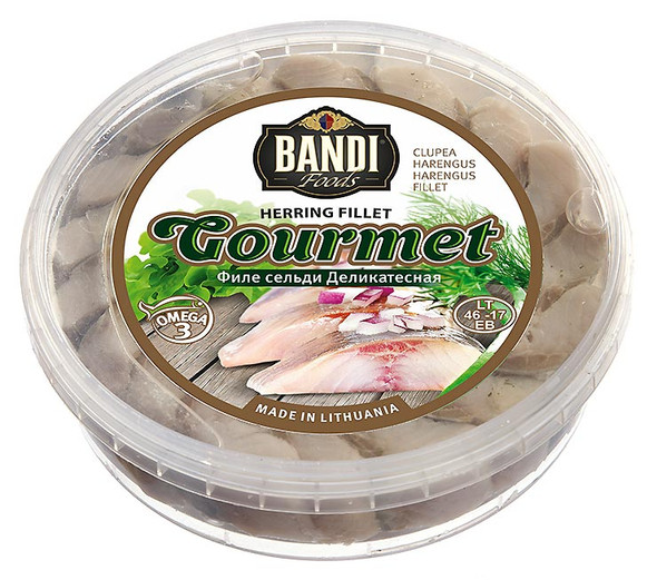 Bandi Scandinavian Herring Fillet 500g (refrigerated)