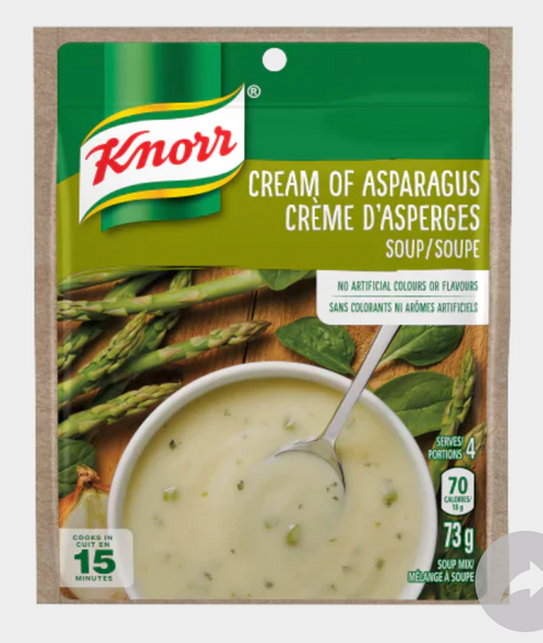 Knorr Cream of Asparagus Soup Mix 49g