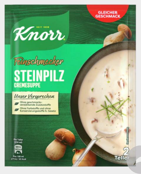KNORR Feinschmecker Steinpilz Cremesuppe 67g