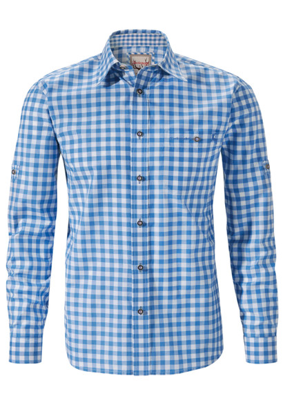 Stockerpoint Traditional Blue Shirt Mitchel