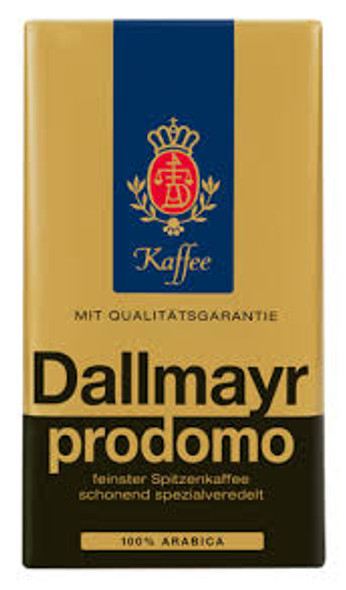 Dallmayr Prodomo Ground Coffee 17.6oz (500g)