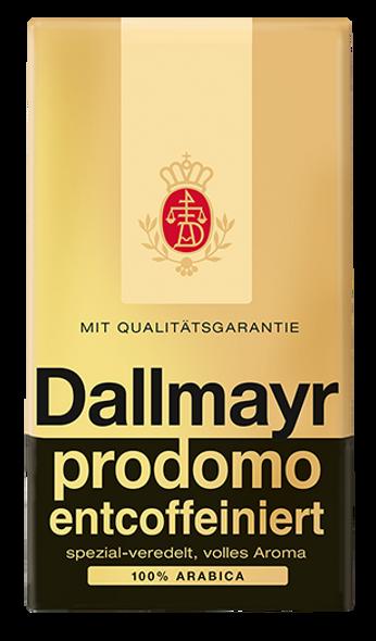 Dallmayr Prodomo Decaf Ground Coffee 17.6oz (500g)