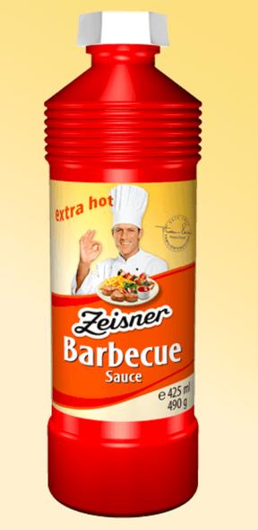 Zeisner Barbecue Sauce 490g