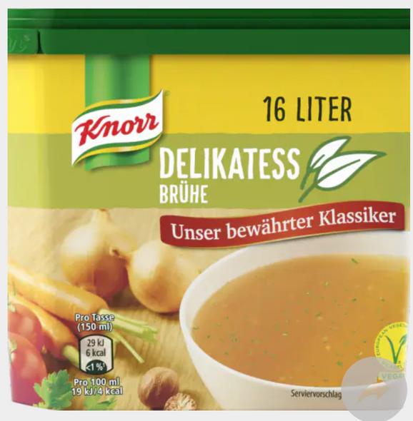 Knorr Delikatess Bruhe 16 liter