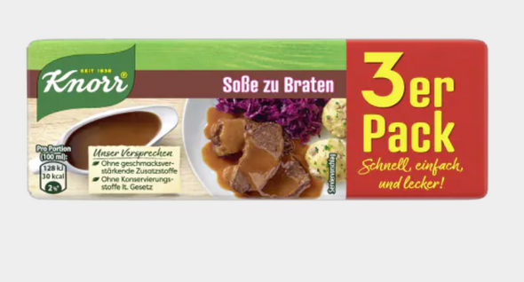 Knorr Sosse zu Braten (3 pack) 750ml