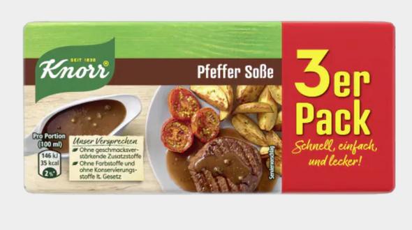 Knorr Pfeffer Sosse (3 pack) 750ml