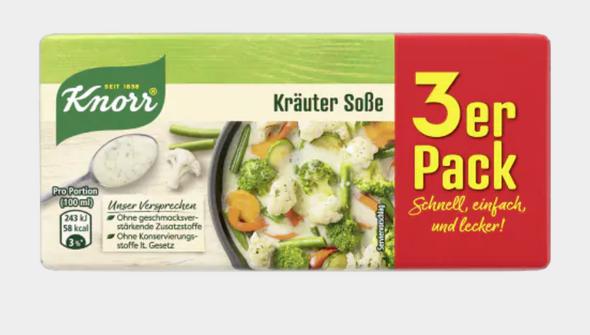 Knorr Krauter Sosse (3 pack) 750ml