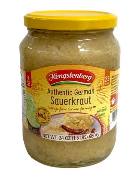 Hengstenberg Authentic German Sauerkraut 24oz