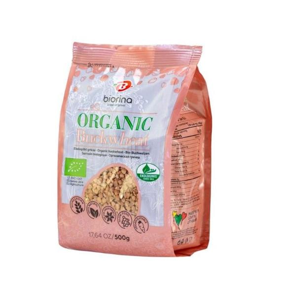 Biorina Organic Buckwheat 17.6oz (500g)