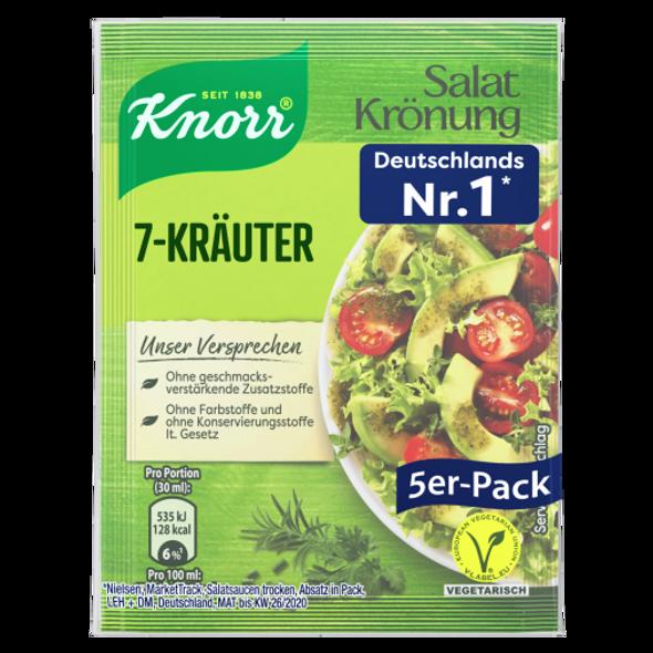 Knorr Salat Kronung 7-Kräuter Dressing 5pack