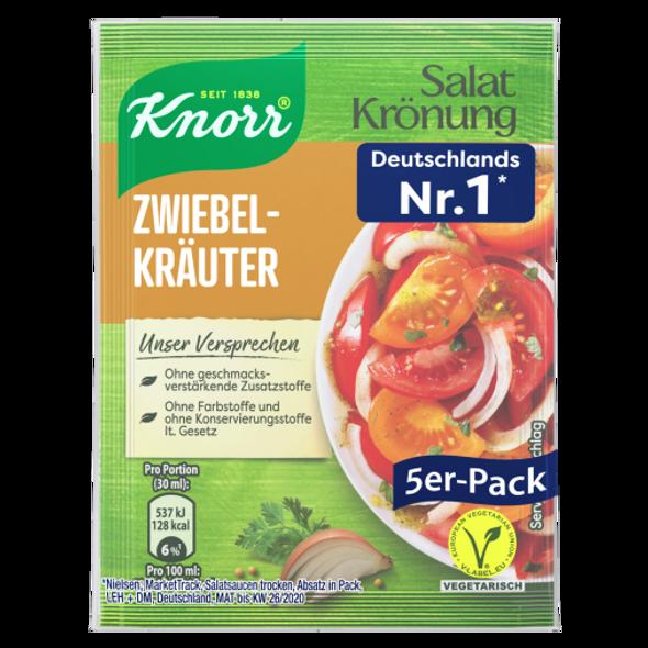 Knorr Salat krönung Zwiebel Kräuter Dressing 5er-Pack