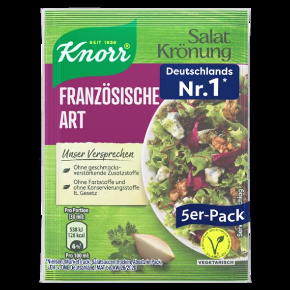 Knorr Salatkrönung Französische Art Dressing 5er-Pack
