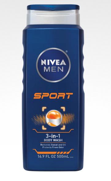 Nivea Men Sport Shower Gel 3-in-1 250ml