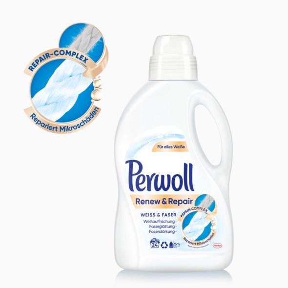 Perwoll Renew & Repair Weiss Laundry Detergent 1.44L 24 loads