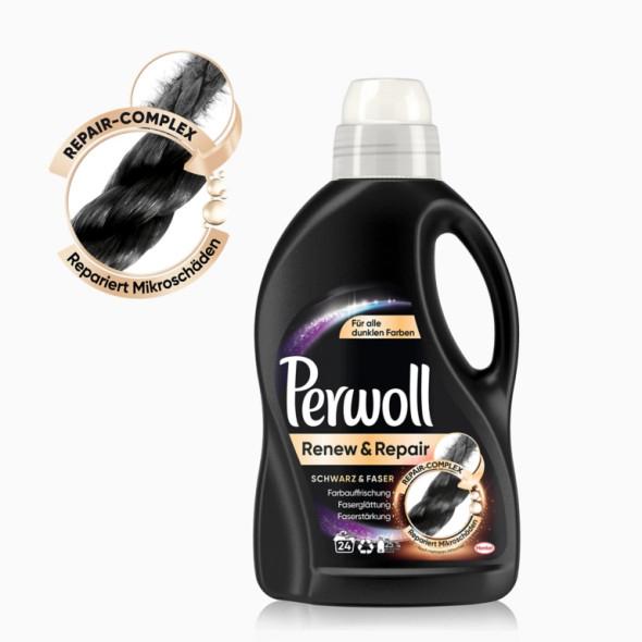 Perwoll Renew & Repair Black Laundry Detergent 1.44L 24 loads