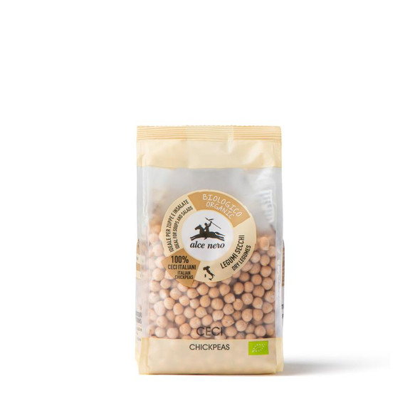 Alce Nero Organic Dried Chickpeas 400g