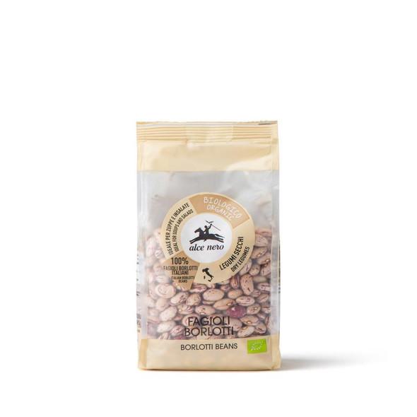 Alce Nero Organic Dried Borlotti Beans 400g