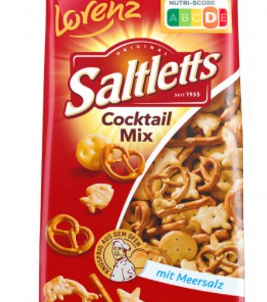 Lorenz Saltletts Cocktail Mix 180g