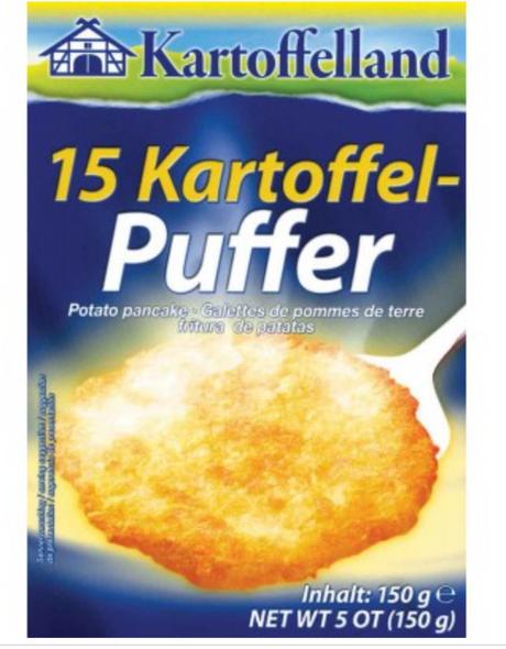 Kartoffelland 15 Potato Pancake Mix 5.25 oz