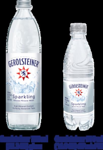 Gerolsteiner Sparkling Mineral Water 25oz