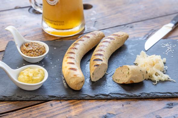 Germandeli.com Bockwurst (Munich Weisswurst) (15) per 5.3 lb.