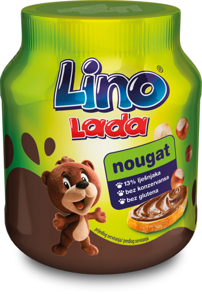 Lino Lada Hazelnut Cocoa Spread 12 oz