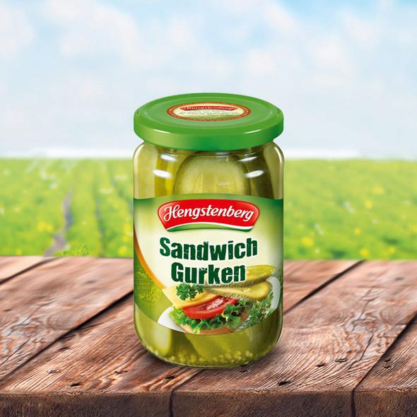 Hengstenberg Sandwich Gherkin 12.5oz