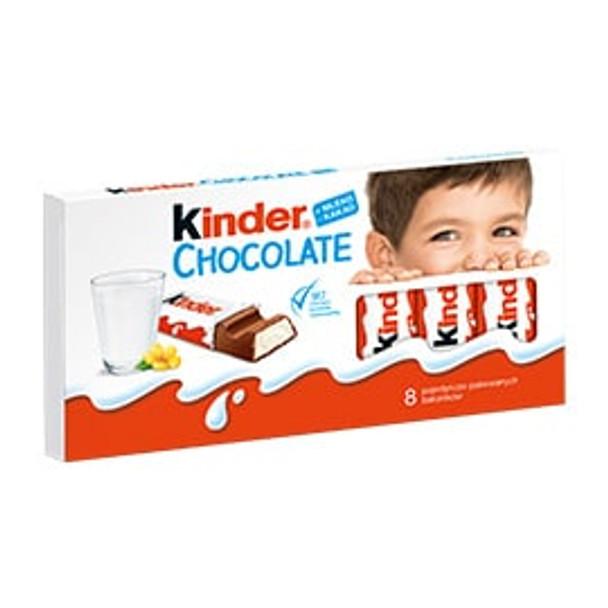 Kinder Chocolate 8 pack