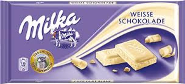 Milka-Weiss Schokolade