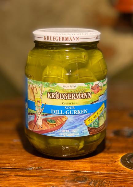 Kruegermann Sour Dill-Gurken 32oz