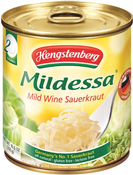 Hengstenberg Mildessa Mild Wine Sauerkraut 10oz